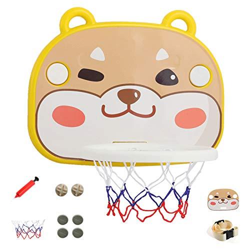 DUTUI Aro De Baloncesto para Niños con Ventosa, Aro De Baloncesto para El Hogar En Interiores, Juguetes Familiares para Niños, Regalos De Cumpleaños para Niños