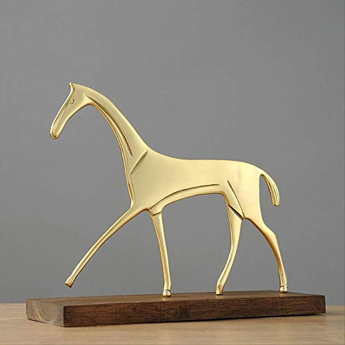 WSJ Wohnaccessoires Wohnzimmer Dekoration Frauen Ornamente , Abstrakt Pferd Kupfer Ornamente Wohnzimmer Weinschrank Bürozimmer