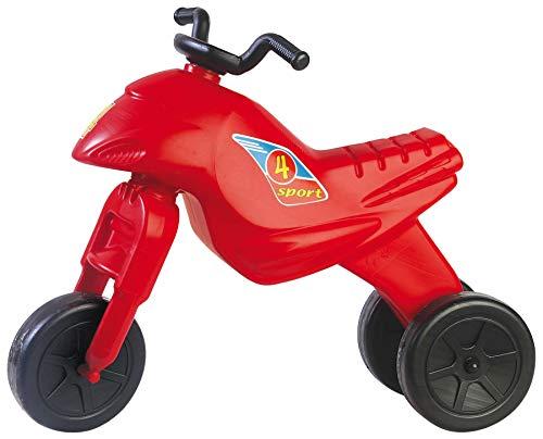 Dohany Rutscher Motorrad Fahrzeug 4 Maxi Kinder Laufrad Lauflernrad (rot)