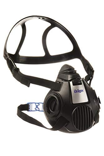 Dräger X-plore 3500 Halbmaske | Gr. M | Mehrweg Atemschutz-Maske für den Einsatz mit wechselbaren Bajonettfiltern