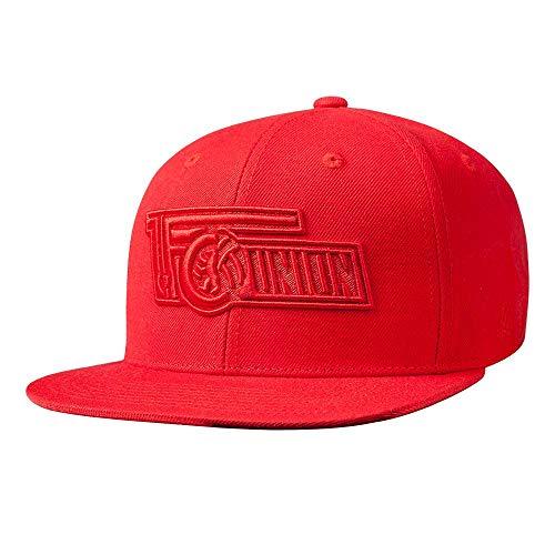 1. FC UNION Berlin Cap, Basecap, Mütze Logo 3D Rot
