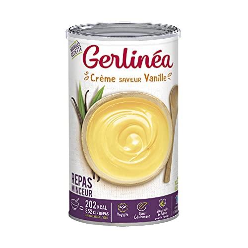 Gerlinéa - Crème Repas Minceur - Substitut de Repas Complet et Rapide - Saveur : Vanille - 192685