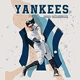 """New York Yankees calendar 2022: baseball calendar 2022 2021-2022 .SPORT Calendar 2022-2023 – 18 months – BIG SIZE 17""""x11"""". Planner for all fans kids boys"""