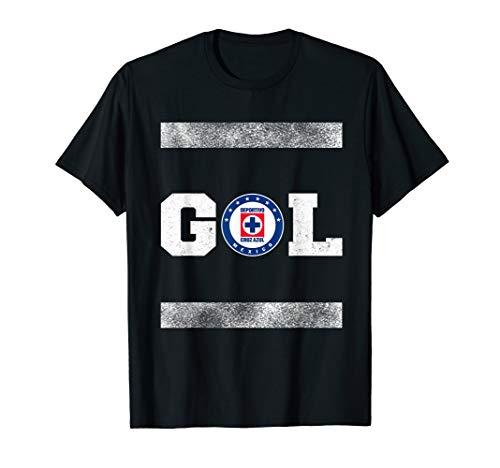 Cruz Azul Retro Vintage Style Gol T-Shirt