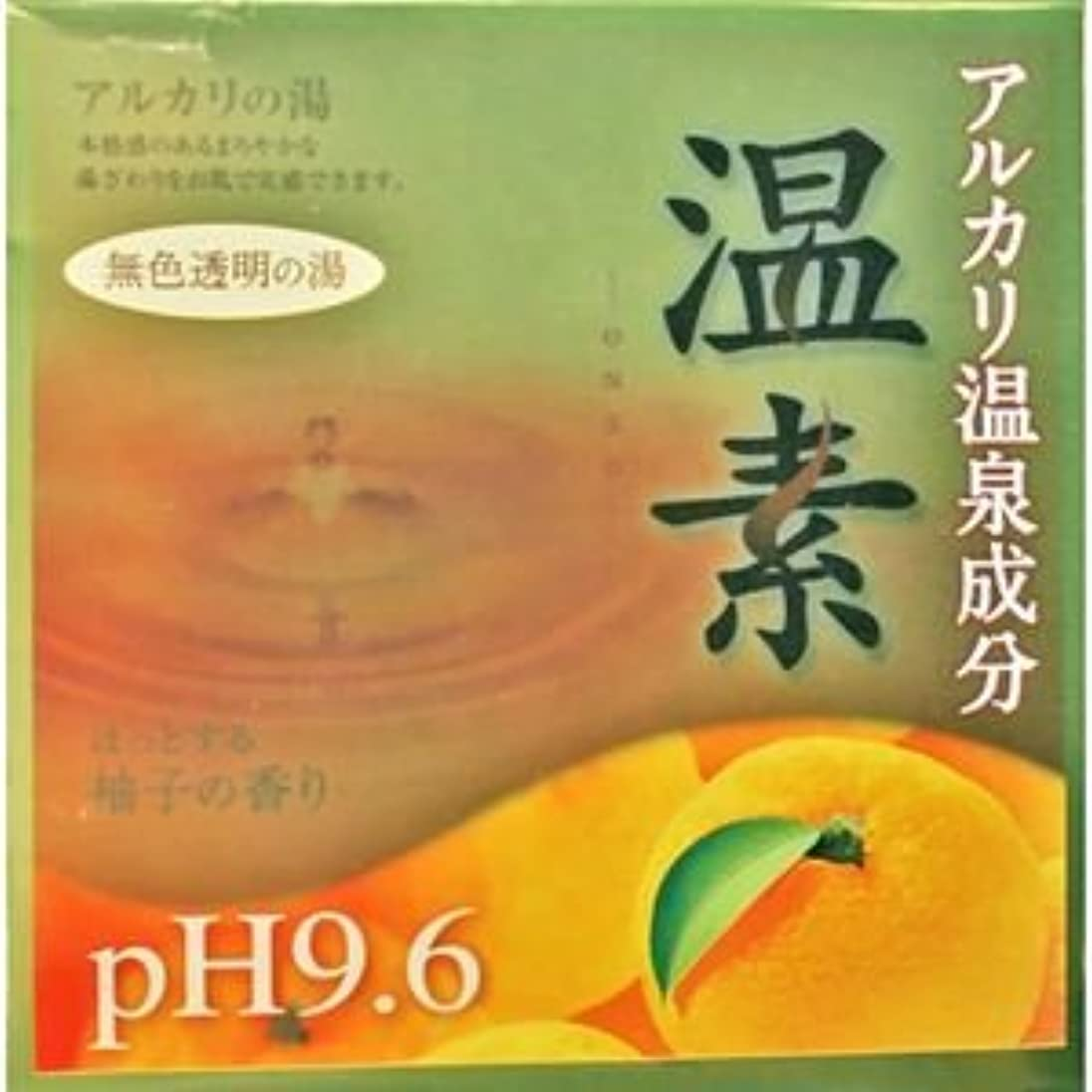 スクリーチ公式海港【アース製薬】温素 柚子の香り 30g×15包 ×5個セット