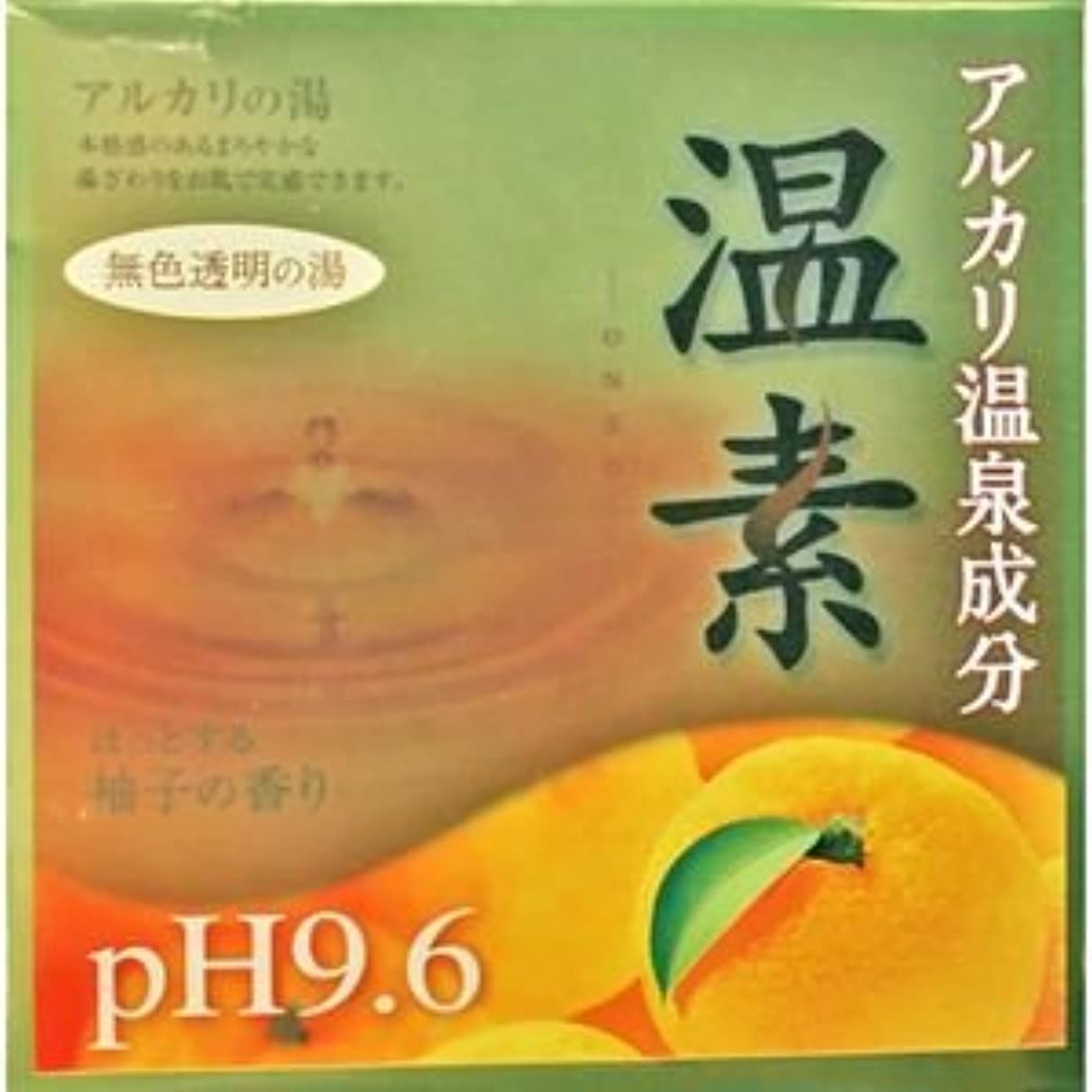 不均一角度電球【アース製薬】温素 柚子の香り 30g×15包 ×5個セット