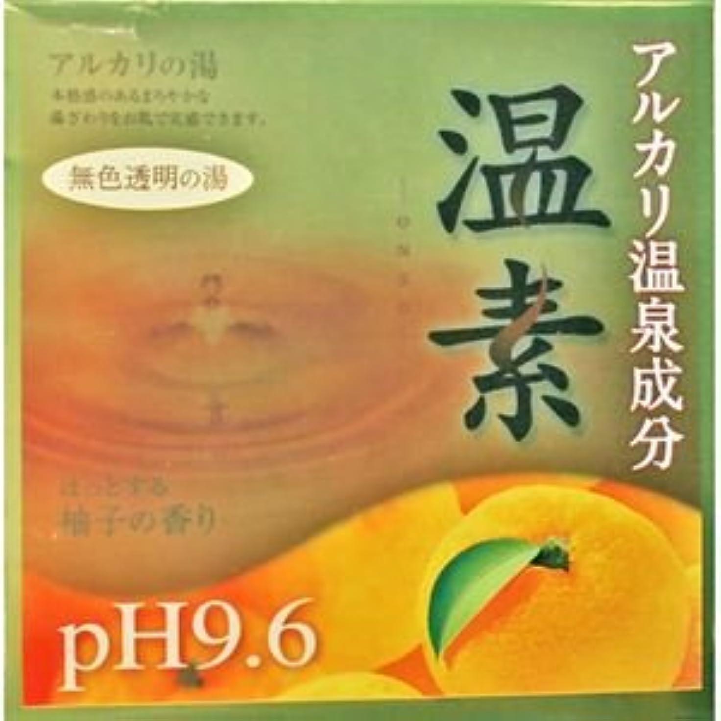 性格カプラーペリスコープ【アース製薬】温素 柚子の香り 30g×15包 ×5個セット