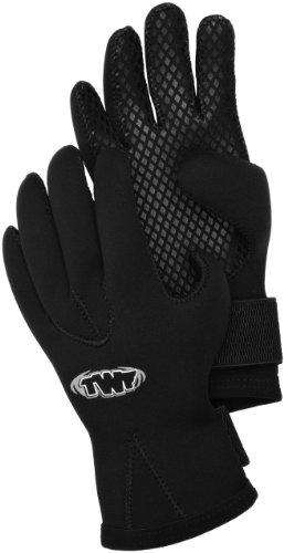 TWF Gants 2,5mm noir Noir x-large