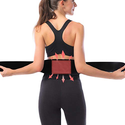 Heizgürtel, Heizgürtel Elektrisch, Graphene Wärmegürtel Elektrischer, Heizung Gürtel mit 3 Temperaturstufen Überhitzungsschutz, USB Heizkissen zur Taillenschmerzen, Rückenmerzen und Bauchschmerzen