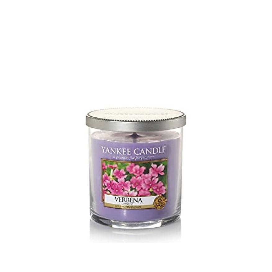 できないバス権威Yankee Candles Small Pillar Candle - Verbena (Pack of 6) - ヤンキーキャンドルの小さな柱キャンドル - バーベナ (x6) [並行輸入品]