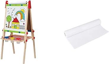 جایزه Hape برنده جایزه هنر چوبی کودک چوبی همه کاره با رول کاغذ و لوازم جانبی