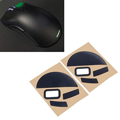 2 Sets/Pack Hotline Games Competition Level Mouse Feet Mouse Skates Gildes for Razer Mamba HyperFlux Mouse 0.6mm Thickn