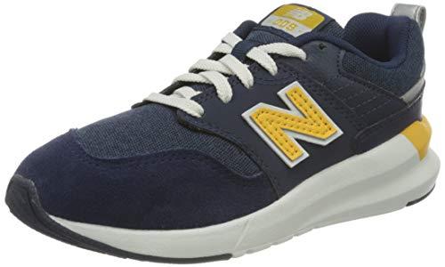 New Balance 009 YS009NE1 Medium, Basket garçon, Blue (Natural Indigo NE1), 31