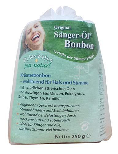 Dr.Weihofen pur natur! Sänger-Öl Bonbon 250 g