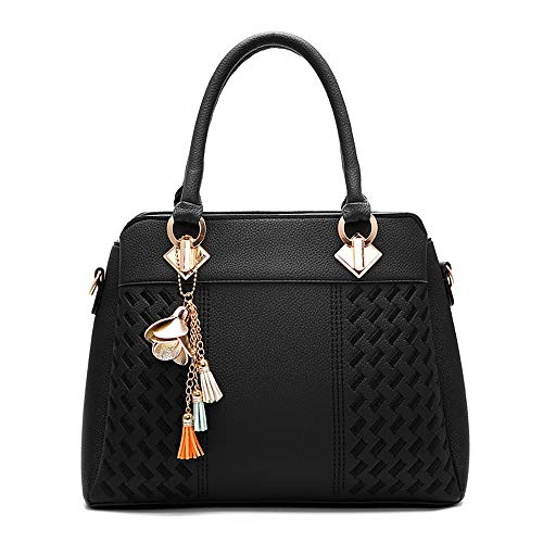 ZOMUSA Women Fashion Handbag Crocodile Pattern Shoulder Bag Small Tote Ladies Purse Clearance