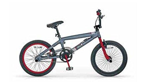 MBM BMX Boost, Bici da Freestyle Unisex Bambini, Rosso A20, 20'