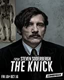 The Knick TV Series - Poster cm. 30 x 40