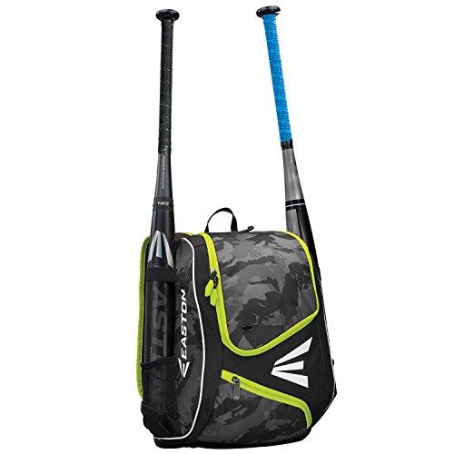 EASTON E110YBP Youth Bat & Equipment Backpack Bag, Ion Yellow