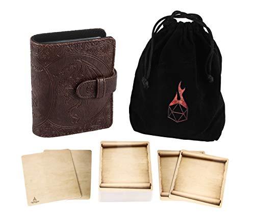 Spellbook, Storage Bag, & Cards Set