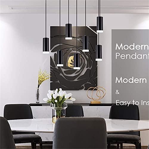 Hobaca 12W 4000k Moderno LED Cilíndrico Acrílico Focos para el techo Downlight...