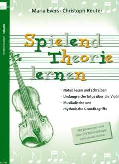 SPIELEND THEORIE LEEREN - gearrangeerd voor viool [Noten / Sheetmusic] Componis: Evers Maria