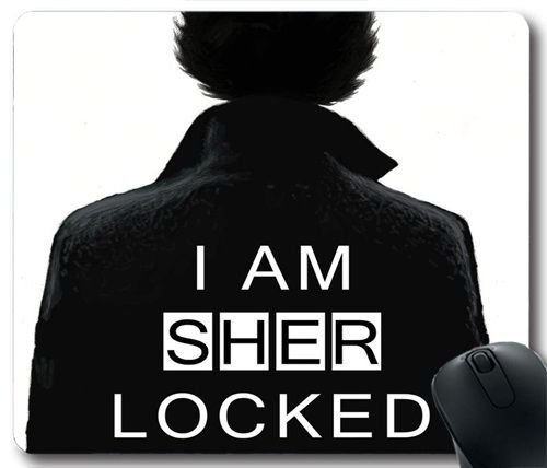 I Am Sher Locked W92J6Q Gaming Mouse Pad/Mauspad,Custom Mousepad
