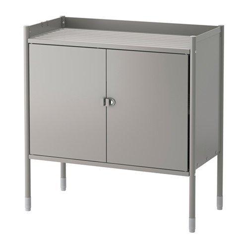 Ikea Cabinet, indoor/outdoor, gray 426.2928.3034