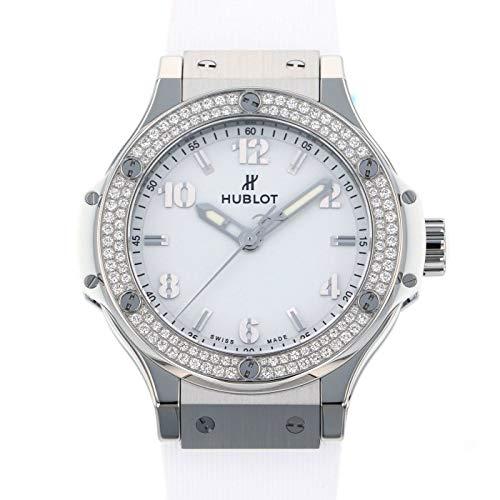 ウブロ HUBLOT ビッグバン サンモリッツ ベゼルダイヤ 361.SE.2010.RW.1104 ホワイト文字盤 腕時計 レディース (W209370) [並行輸入品]