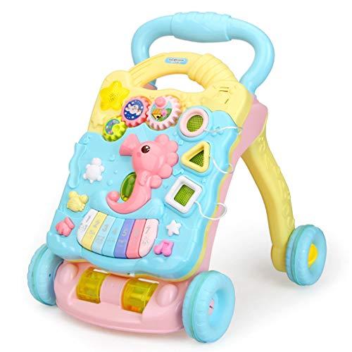 Jouets bébé marcheur Baby Walker Trolley Toy Child Anti-Renversement Walker 6/7-18 Mois 1 an FANJIANI (Couleur : C)