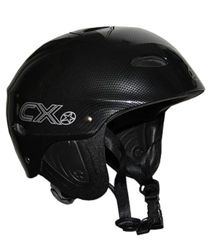 Concept X Kite + Surfing Helmet CX Pro Watersport Helmet - Available in Carbon, Black or White - Carbon, L