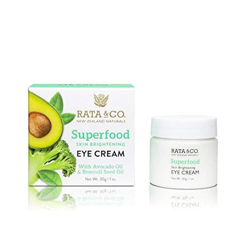 Rata & Co. Superfood Eye Cream with cold pressed Broccoli Seed and Avocado Oil