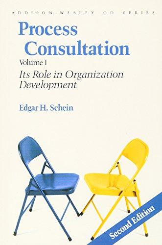 Process Consultation: Its Role in Organization Development