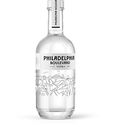 Philadelphia Boulevard Vodka, polnischer Wodka aus 100% Weizen, 0,5 L, 40% Vol.