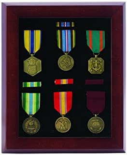 Awards and Gifts R Us 10 X 12 Inch Walnut Finish Medal Display Case