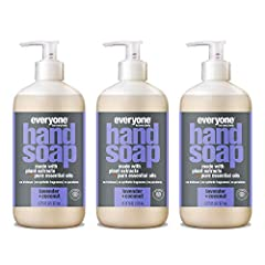 Contains (3) 12.75-ounce recyclable bottles Scent: A bright blend of 100% pure lemon and mandarin orange essential oils refreshes the senses, leaving hands lightly scented Use: Use generously, rub hands together to make foamy bubbles, rinse, and enjo...