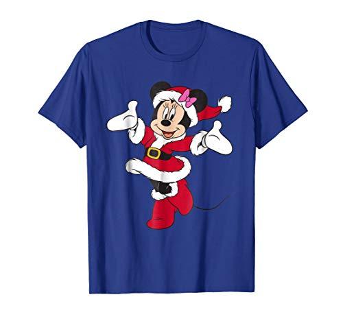 Disney Santa Minnie Mouse Holiday T-Shirt