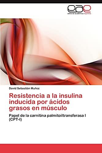 Resistencia a la Insulina Inducida Por Acidos Grasos En Musculo