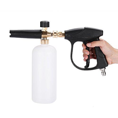 Einstellbare Druck-Waschmaschine Schaumstoff Gun Pistole Auto Druck Snow Schäumer Waschmaschine Adapter Lance für Kärcher Lance Cannon Schaumstoff Blaster
