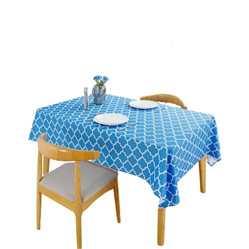 Materiale Poliestere Rettangolare Impermeabile E Antivegetativa Cucina Tovaglia Sala da Pranzo Tavolino Quadrato Tovaglia Adatta per La Decorazione del Soggiorno Mobile TV 100x100cm