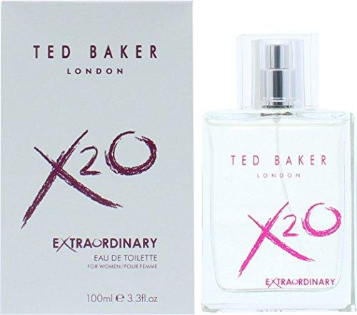 Ted Baker X20 Femme 100 ml Eau de toilette en flacon vaporisateur Parfum Pour Elle avec sac cadeau