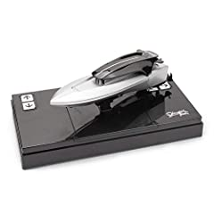 This is a mini remote control boat, its hull is smaller than the palm of an adult, it is very convenient to carry.(It can make a U-turn at the original location. Previously, this function was only available on large remote control boats.) With child ...