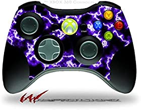 XBOX 360 Wireless Controller Decal Style Skin - Electrify Purple (CONTROLLER NOT INCLUDED)