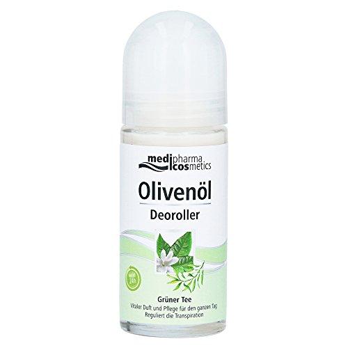 Medipharma Cosmetics Olivenöl Deoroller Grüner Tee 1er Pack(1 X Ml