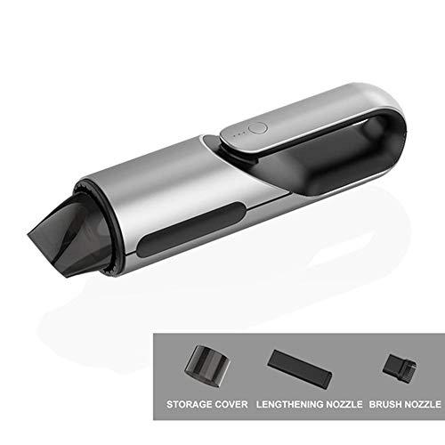 Auto draagbare stofzuiger, nat en droog stofzuiger handheld 12V mini auto draadloze stofzuiger auto schoonmaken tool,2