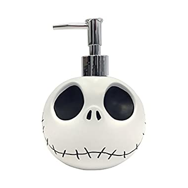 Disney Nightmare Before Christmas Jack Skellington Resin Lotion Pump/Soap Dispenser