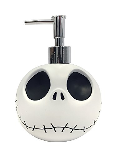 Disney Nightmare Before Christmas Jack Skellington Resin Lotion Pump/Soap Dispenser