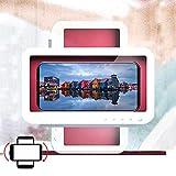 Shower Phone Holder Waterproof, 2021 Upgrade Shower Phone Holder[360° Rotation],Shower Phone Mount, HD and Anti-Fog, Shower Cell Phone Holder, Shower Phone Case, Wall Mount Phone Holder(White)