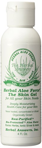 Herbal Answers, Skin Gel Herb Organic, 4 Ounce