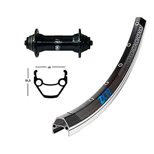 Winora Unisex– Erwachsene Laufräder-2146560500 Laufräder, schw/silb, One Size