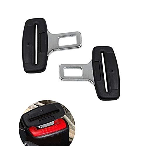 Disattivatore dell'allarme della cintura di sicurezza Pentaton, Fibbia per la cintura di sicurezza, Disattiva allarme, Nero (pack of 2)